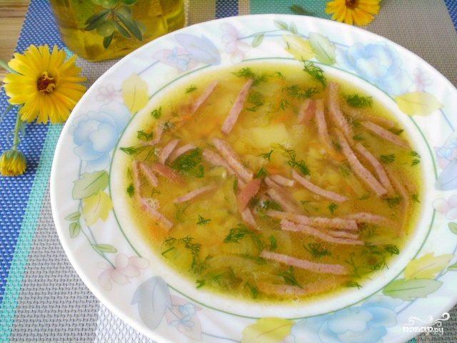 Гороховый суп без мяса пошаговый рецепт с фото