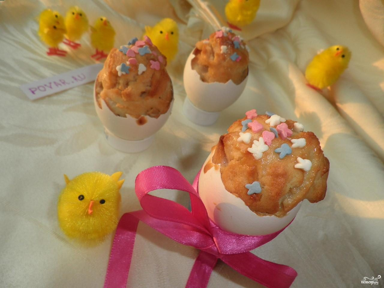 Рецепт Детские пасхальные кексики