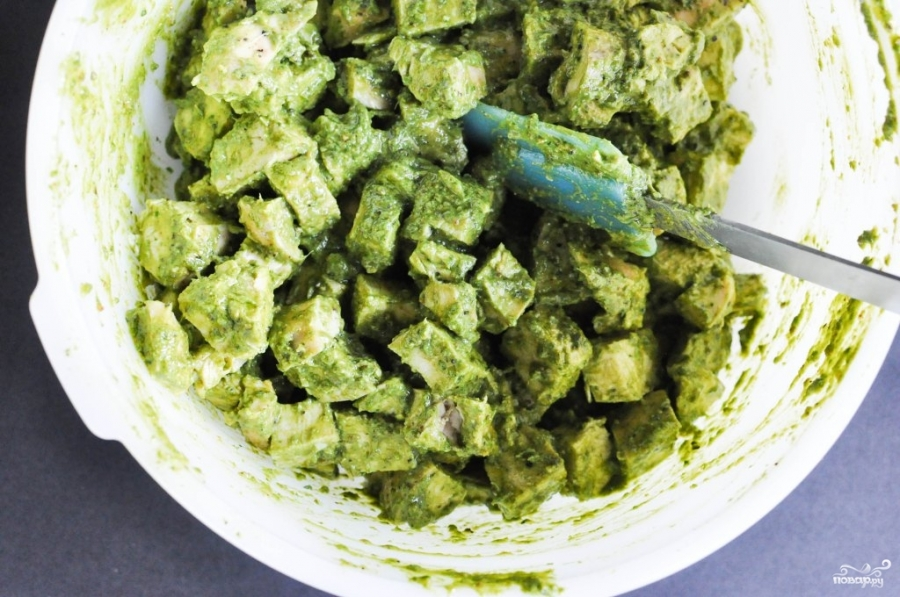 Салат из филе - фото шаг 11