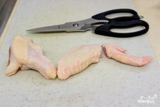 Куриные крылышки в духовке - фото шаг 1