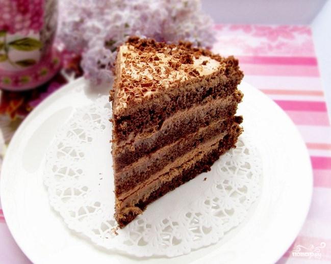 торт негритенок рецепт с фото пошагово