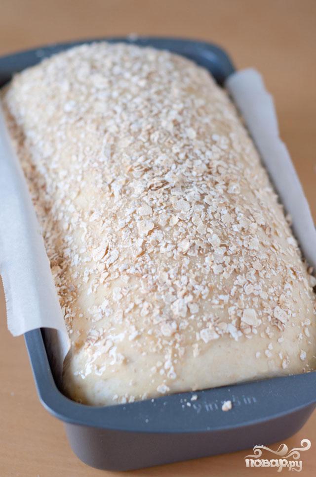 Медовый хлеб с овсяными хлопьями - фото шаг 6