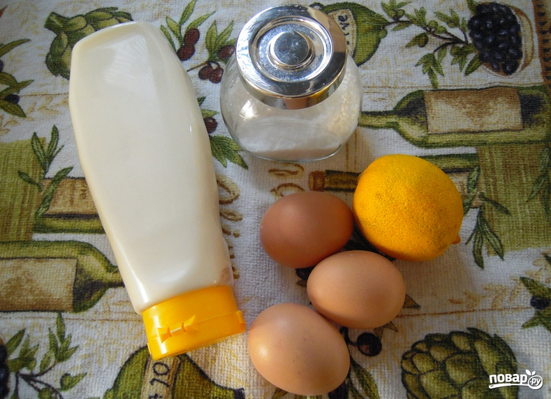 Яичный салат - фото шаг 1