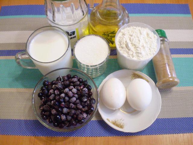 Рецепт Быстрый пирог на кефире
