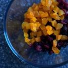 Рецепт Пирожные с овсяными хлопьями и сухофруктами