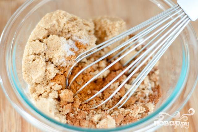 Шоколадные булочки с корицей в глазури - фото шаг 1