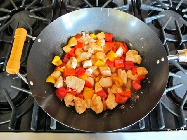 Курица в кисло-сладком соусе - фото шаг 5