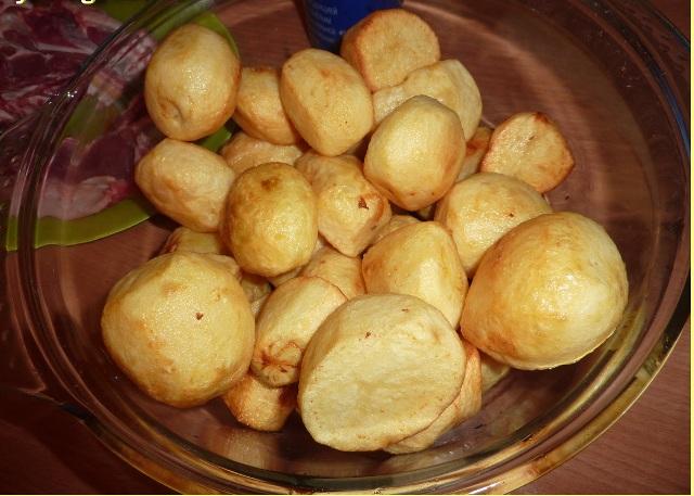 Ребрышки с картошкой в казане - фото шаг 3