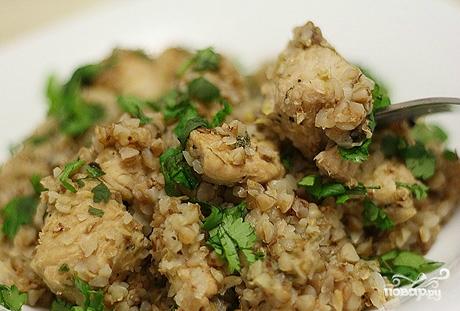 рецепт гречка с индейкой в духовке рецепт с фото
