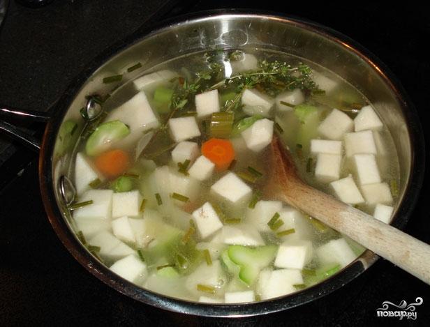 Рецепт Бульон с сельдереем