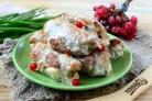 Рулетики мясные к праздничному столу