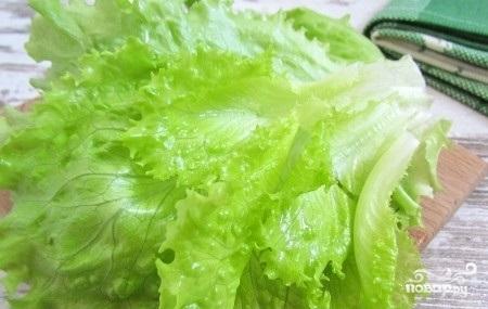 Салат из авокадо и редиса - фото шаг 4
