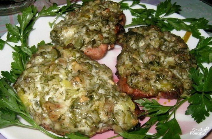 Рецепт Свинина по-барски