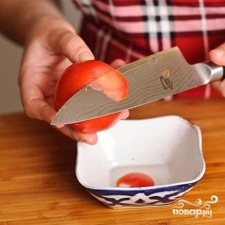 Суп с фрикадельками и помидорами - фото шаг 2