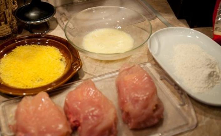 Куриная грудка, фаршированная сыром - фото шаг 3