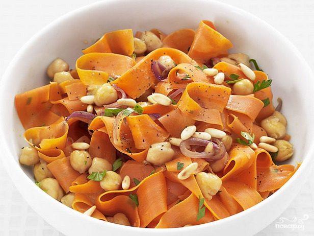 Рецепт Морковь с орехами