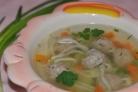 Детский суп из индейки