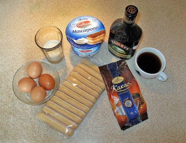 Рецепт Тирамису классический в креманках
