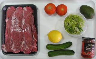 Рецепт Американский салат со стейком