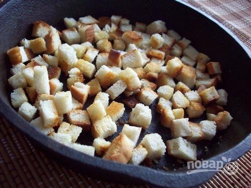 Суп пюре с сыром и шампиньонами рецепт с фото