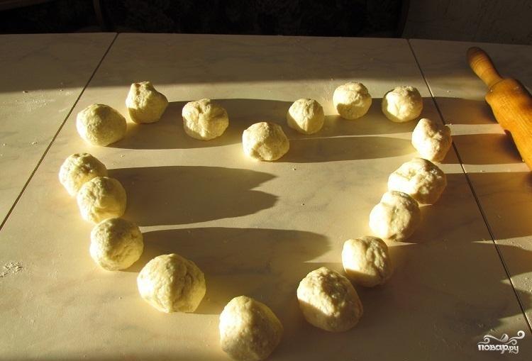 Быстрые творожные булочки - фото шаг 5