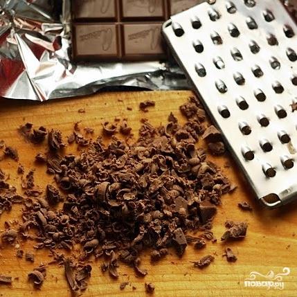 Кекс с бразильским орехом, вареньем и шоколадом - фото шаг 12