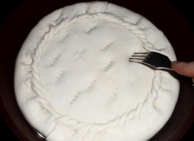 Пирог с горбушей консервированной - фото шаг 13