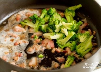 Макароны с брокколи - фото шаг 3