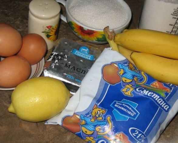 """Рецепт Торт """"Банановый идеал"""""""