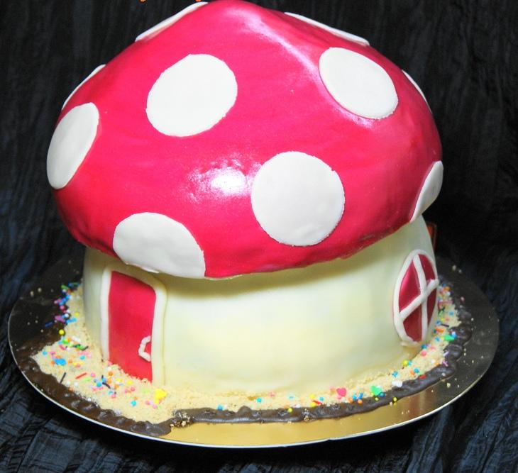 "Торт ""Грибок"" - фото шаг 6"