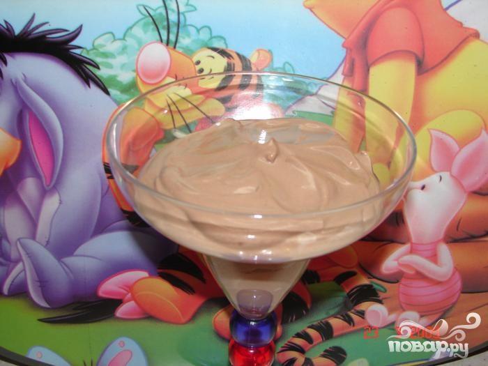 Рецепт Творожно-шоколадный мусс