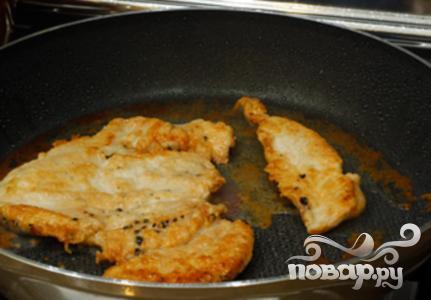 Куриный салат с сырным соусом - фото шаг 2