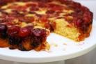 Перевернутый вишневый пирог