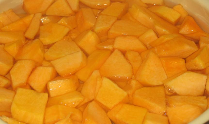 Рецепт Сок из тыквы и яблок на зиму