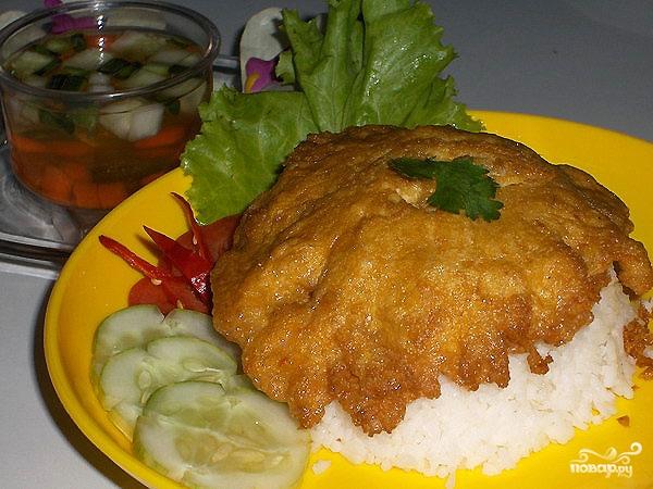 Рецепт Омлет по-тайски