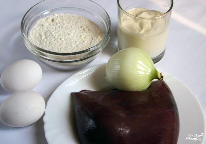 Рецепт Котлеты из печени свиной