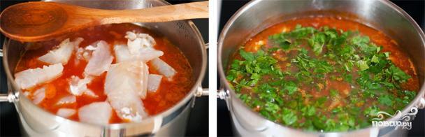 Суп из соленой трески - фото шаг 5