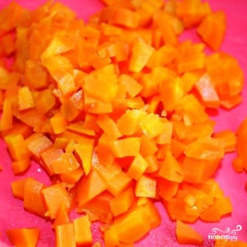 Сытный новогодний салат - фото шаг 9