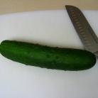 Рецепт Пряный салат из огурцов