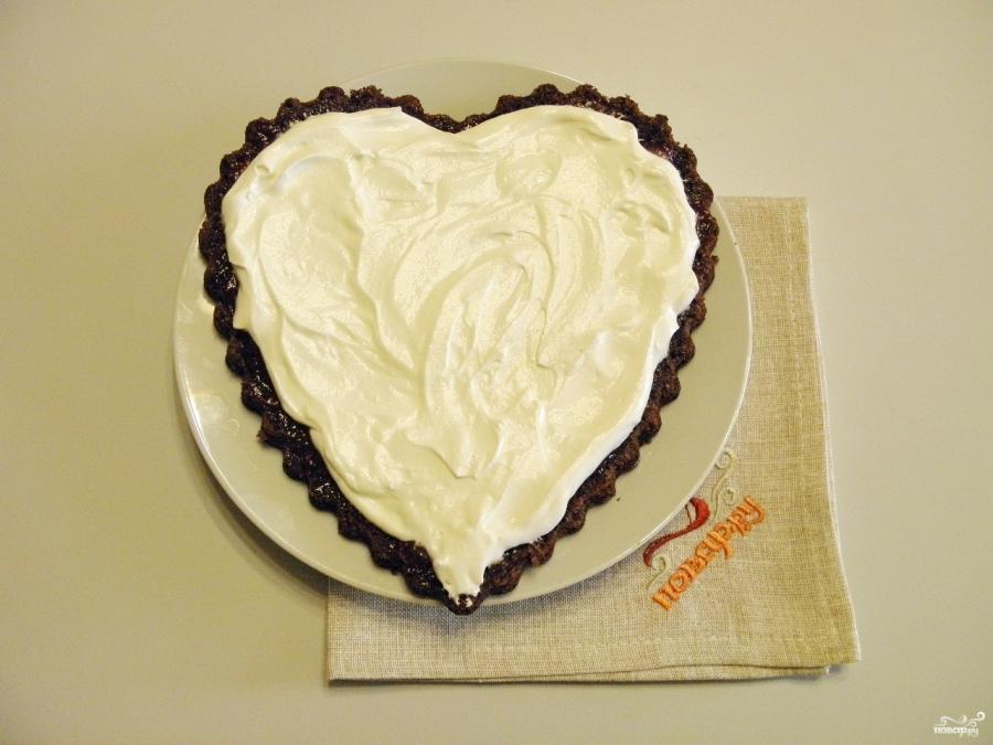 Торт в виде сердца - фото шаг 10