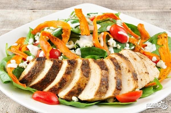 Салат из курицы и сыра - фото шаг 6