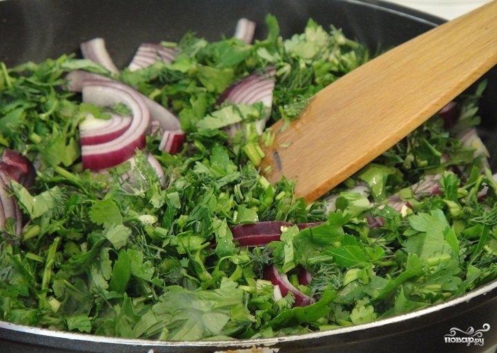 Суп из красной капусты - фото шаг 3