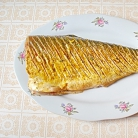 Рецепт Запеченный толстолоб с лимоном и зеленью
