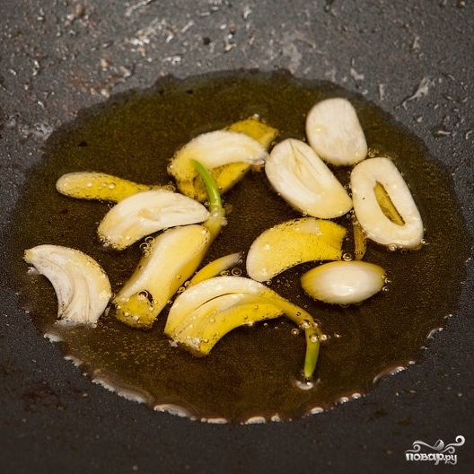 Тыквенный суп с креветками - фото шаг 5