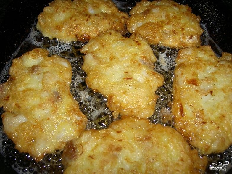 Рецепт Полезные капустно-луковые котлеты