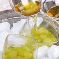Виноград в желе из йогурта - фото шаг 4