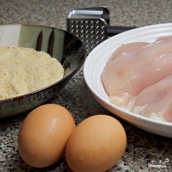 Рецепт Куриные шницели
