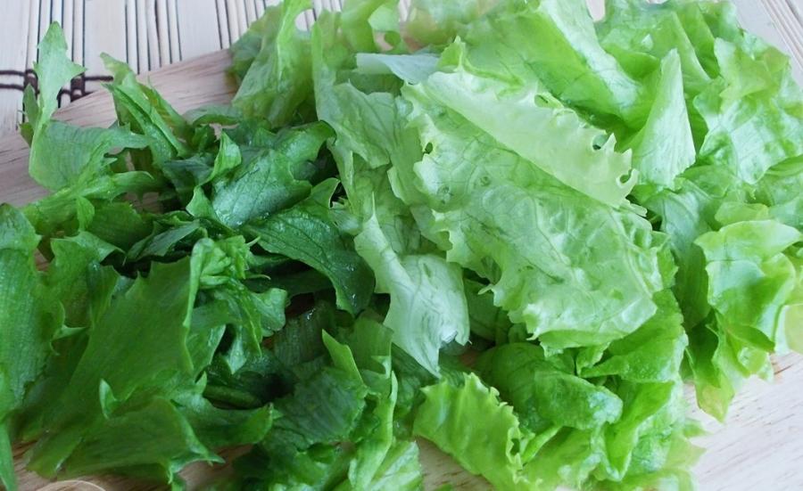 Салат с курицей и киви - фото шаг 4