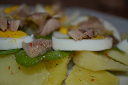 Сытный салат  - фото шаг 5