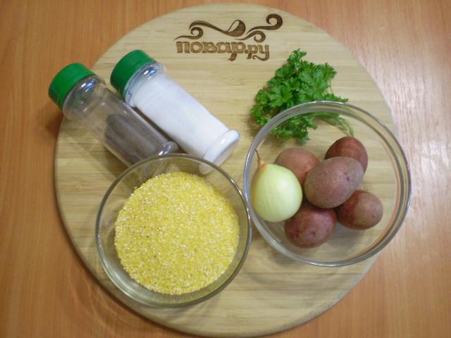 Рецепт Суп из кукурузной крупы